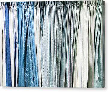 Curtain Fabrics Canvas Print by Tom Gowanlock