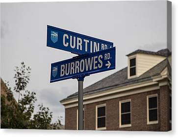 Curtin And Burrowes Penn State  Canvas Print by John McGraw