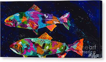 Cutthroats Canvas Print by Tracy Miller