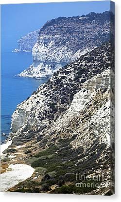 Cyprus View Canvas Print by John Rizzuto