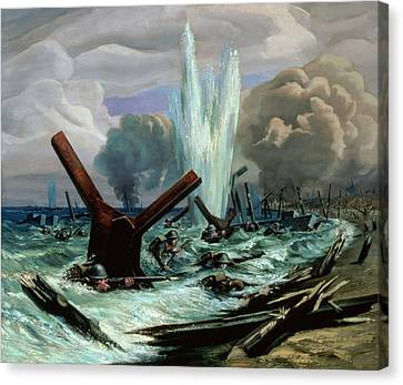 D Day Canvas Print by Orville Norman Fisher