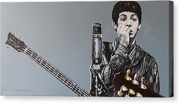 D-note Canvas Print by Eric Dee