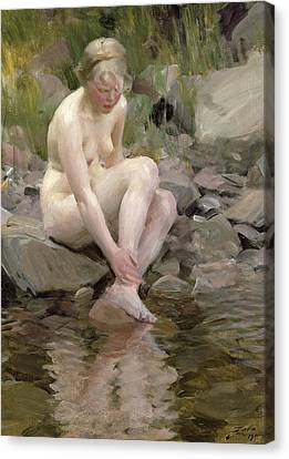 Dagmar Canvas Print by Anders Leonard Zorn