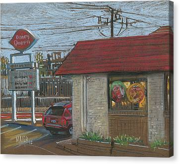 Dairy Queen Canvas Print by Donald Maier