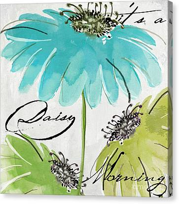 Daisy Morning Canvas Print by Mindy Sommers