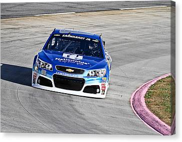 Dale Earnhardt Jr. Nationwide Canvas Print by Jonathan McCoy