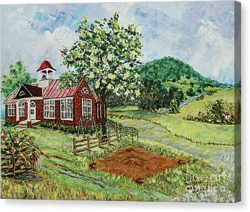 Dale Enterprise School Canvas Print by Judith Espinoza