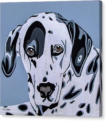 Dalmatian Canvas Print by Slade Roberts