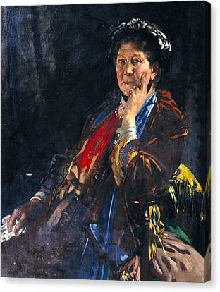 Dame Madge Kendal Canvas Print by William