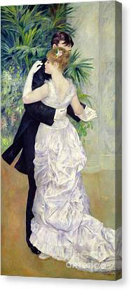 Dance In The City Canvas Print by Pierre Auguste Renoir
