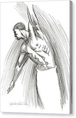 Dance Canvas Print by Robert Schnieders