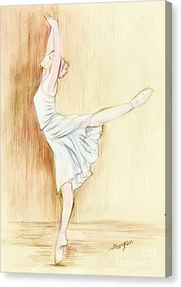 Dancer Canvas Print by Morgan Fitzsimons