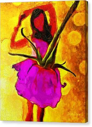 Dancing Days - Pa Canvas Print by Leonardo Digenio