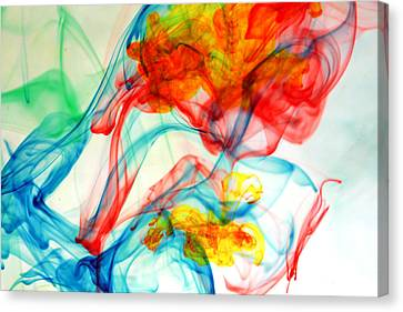 Dancing In Water Canvas Print by Michael Ledray