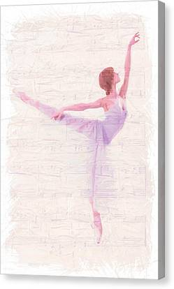 Dancing Melody Canvas Print by Steve K