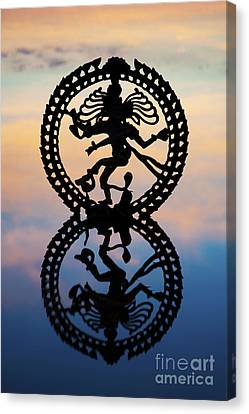 Dancing On The Sea Of Samsara Canvas Print by Tim Gainey