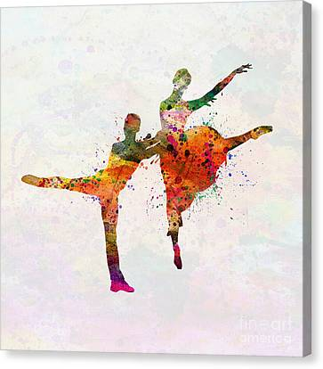 Dancing Queen Canvas Print by Mark Ashkenazi