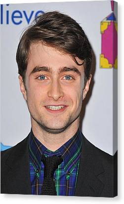 Daniel Radcliffe At Arrivals For Only Canvas Print by Everett
