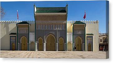 Dar-el-makhzen The Royal Palace Canvas Print by Panoramic Images