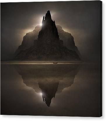Dark Companion Canvas Print by Michal Karcz