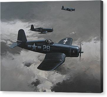 Dark Edge Canvas Print by Curtis Chapline