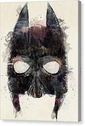 Dark Knight Canvas Print by Bri B