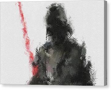 Dark Lord Canvas Print by Miranda Sether