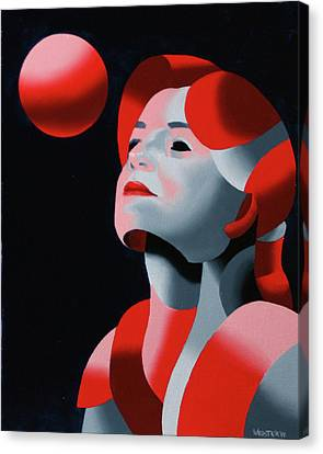 Dark Matter 10 Canvas Print by Mark Webster