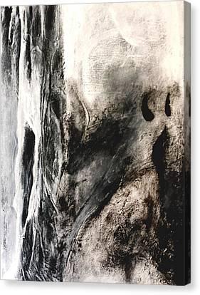 Dark Matter Canvas Print by Jenny Stoddard