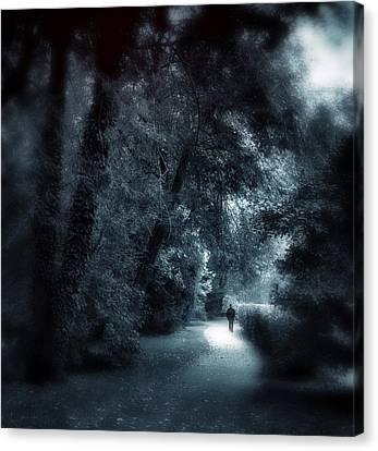 Dark Passage Canvas Print by Jessica Jenney