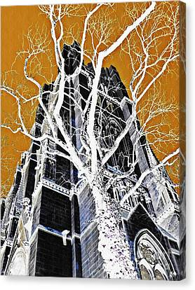 Dark Tower Canvas Print by Sarah Loft