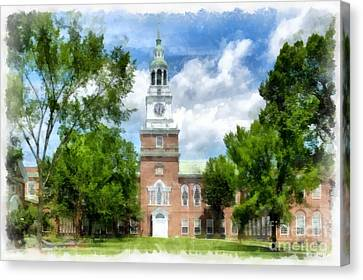 Dartmouth Collage Canvas Print by Edward Fielding