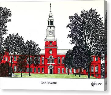 Dartmouth Canvas Print by Frederic Kohli