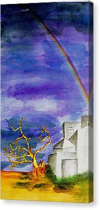 Das Kloster     The Monastery Canvas Print by Birgit Schlegel