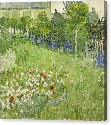 Daubigny's Garden Canvas Print by Van Gogh