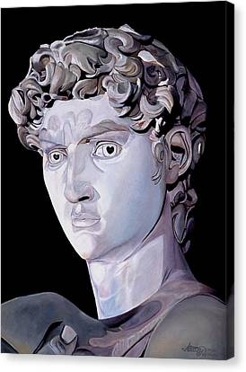 David From Michaelaangelo Canvas Print by JoeRay Kelley