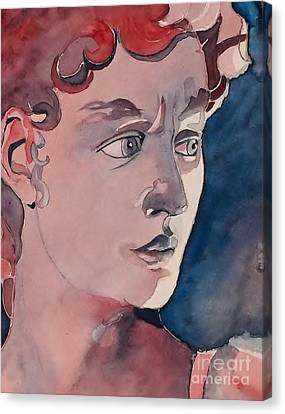 David Canvas Print by Lise PICHE
