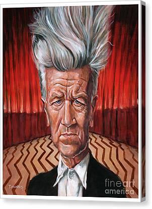 David Lynch Canvas Print by Mark Tavares