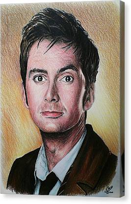David Tennant Canvas Print by Andrew Read