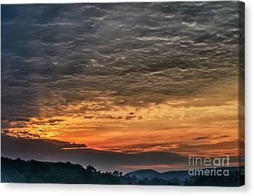 Dawn In West Virginia  Canvas Print by Thomas R Fletcher