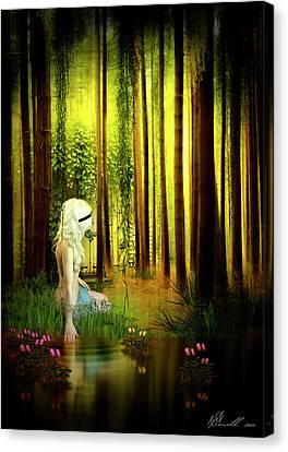 Dawn Refresh Canvas Print by Svetlana Sewell