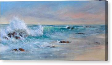 Dawn Canvas Print by Rita Palm