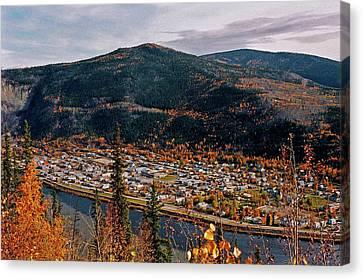 Dawson City - Yukon Canvas Print by Juergen Weiss