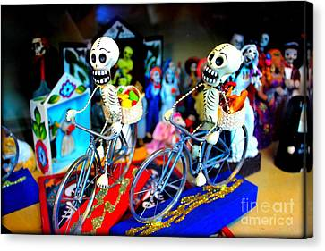 Day Of The Dead Canvas Print by Jenny Revitz Soper