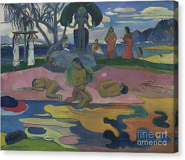 Day Of The God Canvas Print by Paul Gauguin