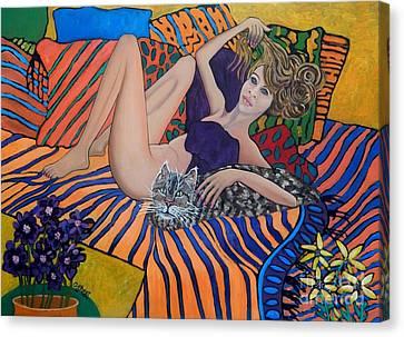 Daydreamer Canvas Print by Caroline Street
