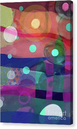 Dayglo Dream Canvas Print by Cathy Jacobs