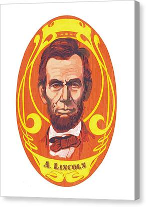 Dayglow Lincoln Canvas Print by Harry West