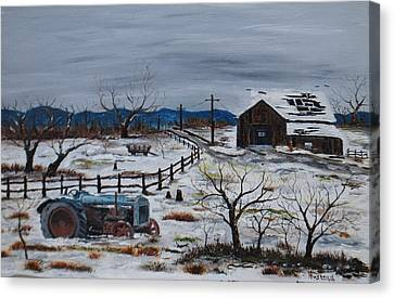 Days Gone By Canvas Print by Brian Hustead