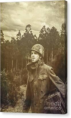 Daze Of War Canvas Print by Jorgo Photography - Wall Art Gallery